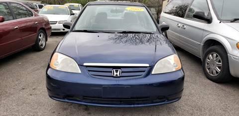 2003 Honda Civic for sale in La Porte, TX