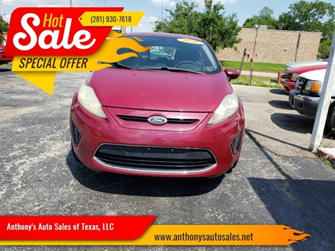 2011 Ford Fiesta for sale at Anthony's Auto Sales of Texas, LLC in La Porte TX
