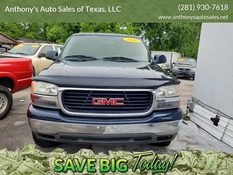 2005 GMC Yukon XL for sale at Anthony's Auto Sales of Texas, LLC in La Porte TX