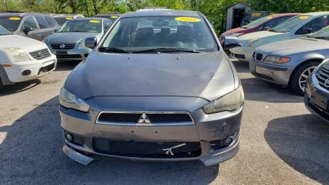 2008 Mitsubishi Lancer for sale at Anthony's Auto Sales of Texas, LLC in La Porte TX