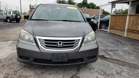 2008 Honda Odyssey for sale at Anthony's Auto Sales of Texas, LLC in La Porte TX
