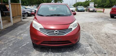 2014 Nissan Versa Note for sale at Anthony's Auto Sales of Texas, LLC in La Porte TX