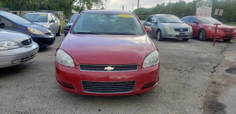 2008 Chevrolet Impala for sale at Anthony's Auto Sales of Texas, LLC in La Porte TX