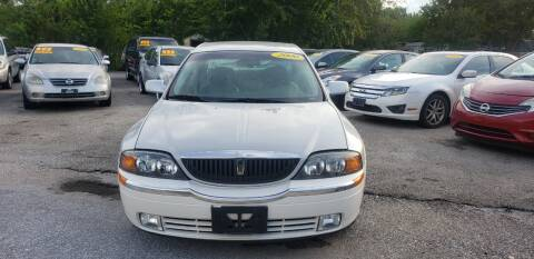 2000 Lincoln LS for sale at Anthony's Auto Sales of Texas, LLC in La Porte TX