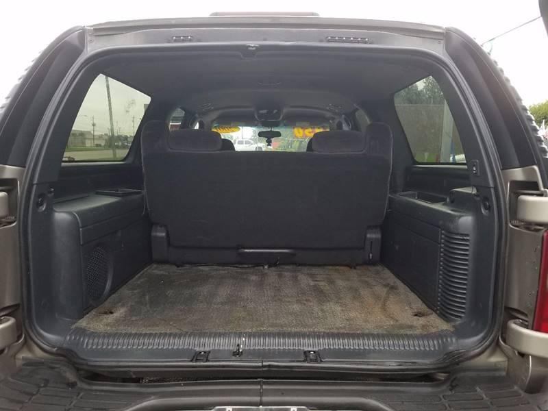 2001 GMC Yukon XL 1500 SLE 2WD 4dr SUV - La Porte TX
