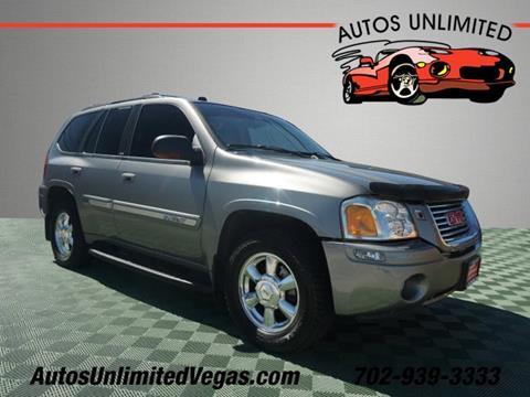 Gmc Las Vegas >> 2005 Gmc Envoy For Sale In Las Vegas Nv
