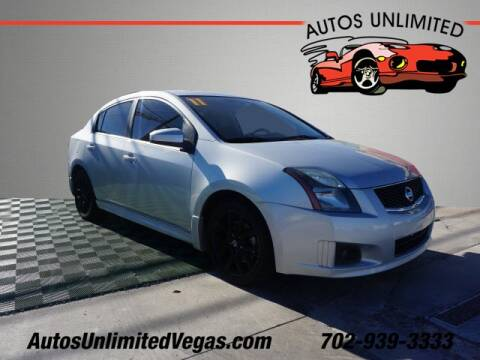 2011 Nissan Sentra for sale at Autos Unlimited in Las Vegas NV