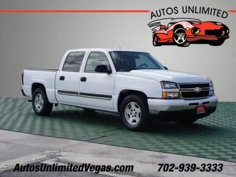2006 Chevrolet Silverado 1500 for sale in Las Vegas, NV