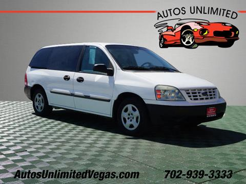 2005 Ford Freestar for sale in Las Vegas, NV
