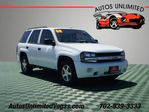 2004 Chevrolet TrailBlazer for sale in Las Vegas, NV