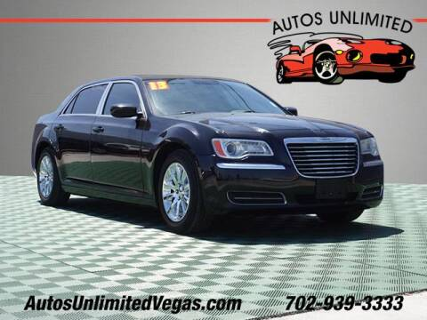 2013 Chrysler 300 for sale at Autos Unlimited in Las Vegas NV