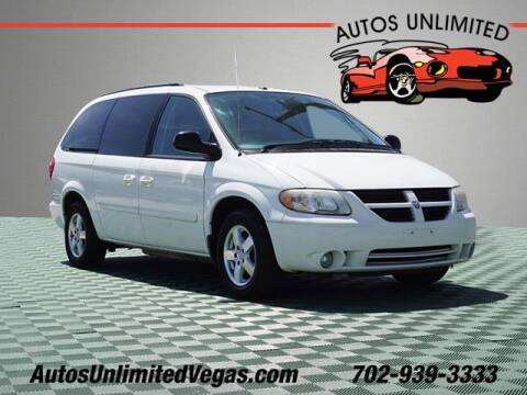 2006 Dodge Grand Caravan for sale at Autos Unlimited in Las Vegas NV