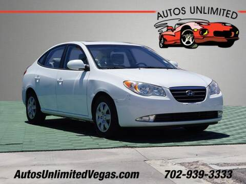 2009 Hyundai Elantra for sale at Autos Unlimited in Las Vegas NV