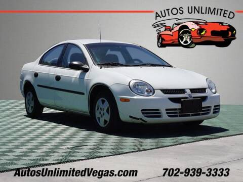 2004 Dodge Neon for sale at Autos Unlimited in Las Vegas NV