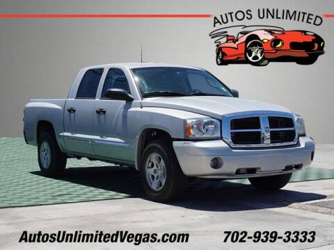 2006 Dodge Dakota for sale at Autos Unlimited in Las Vegas NV