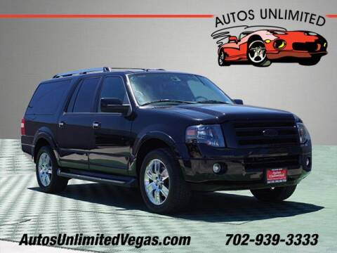 2009 Ford Expedition EL for sale at Autos Unlimited in Las Vegas NV