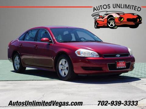 2009 Chevrolet Impala for sale at Autos Unlimited in Las Vegas NV