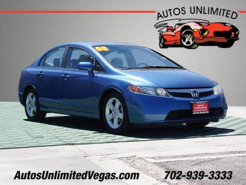 2008 Honda Civic for sale at Autos Unlimited in Las Vegas NV