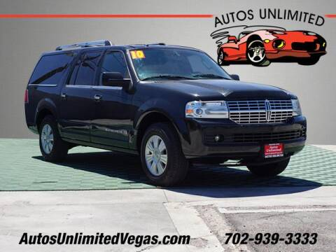2010 Lincoln Navigator L for sale at Autos Unlimited in Las Vegas NV