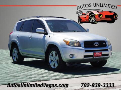 2006 Toyota RAV4 for sale at Autos Unlimited in Las Vegas NV
