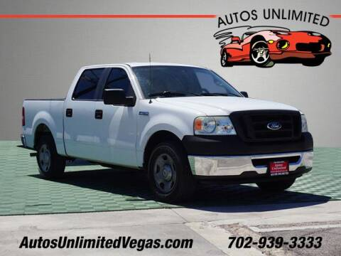 2008 Ford F-150 for sale at Autos Unlimited in Las Vegas NV
