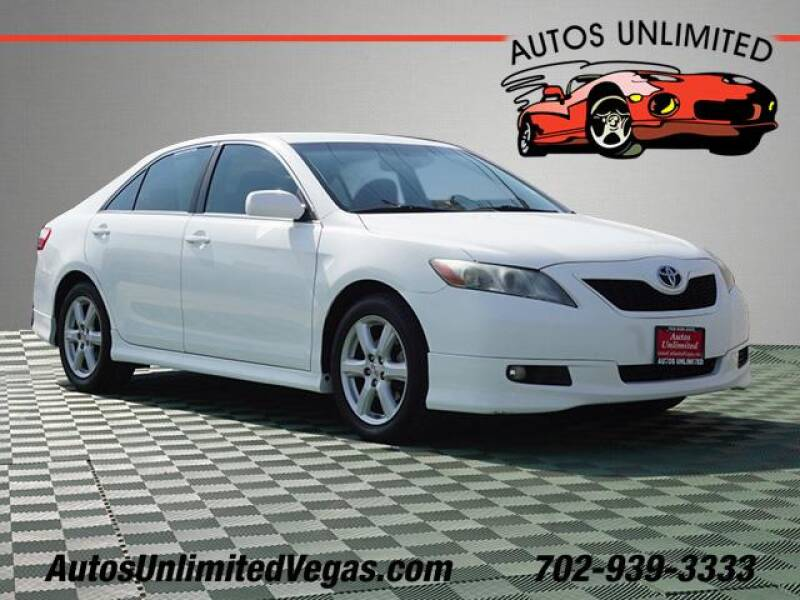 2007 Toyota Camry for sale at Autos Unlimited in Las Vegas NV