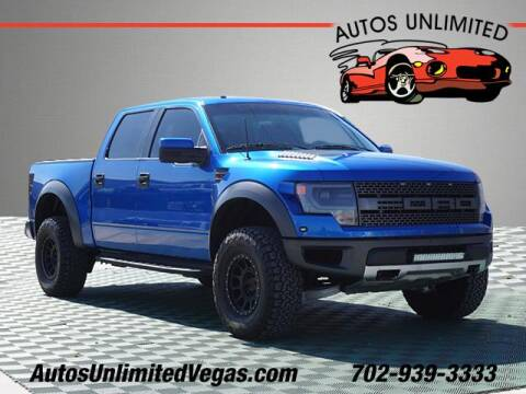 2013 Ford F-150 for sale at Autos Unlimited in Las Vegas NV