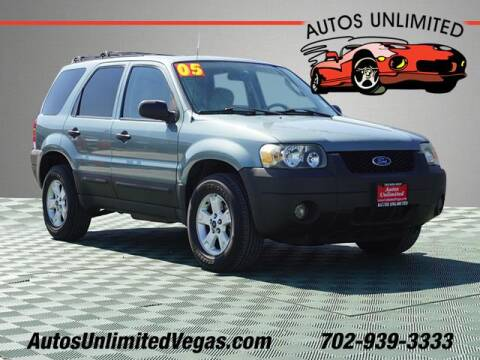 2005 Ford Escape for sale at Autos Unlimited in Las Vegas NV