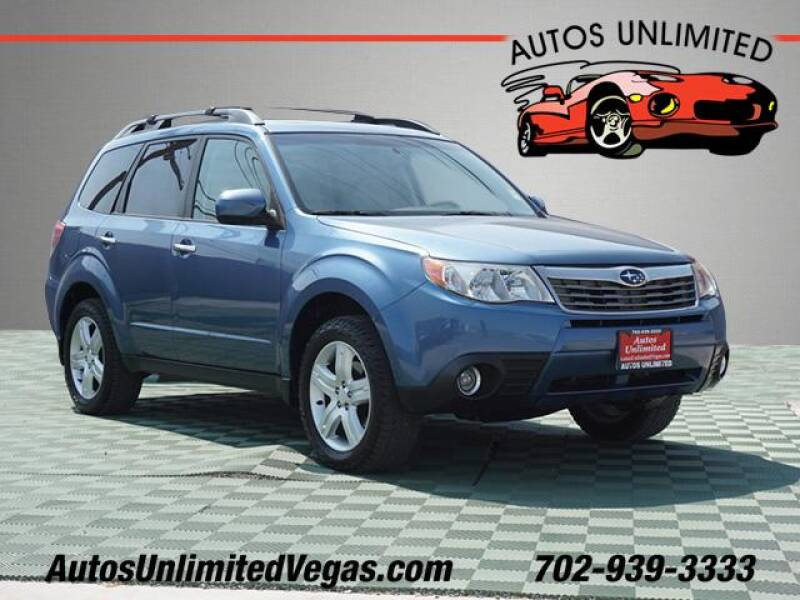 2010 Subaru Forester for sale at Autos Unlimited in Las Vegas NV