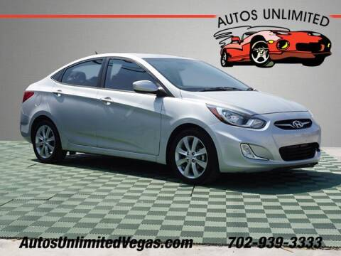 2013 Hyundai Accent for sale at Autos Unlimited in Las Vegas NV