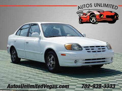 2004 Hyundai Accent for sale at Autos Unlimited in Las Vegas NV