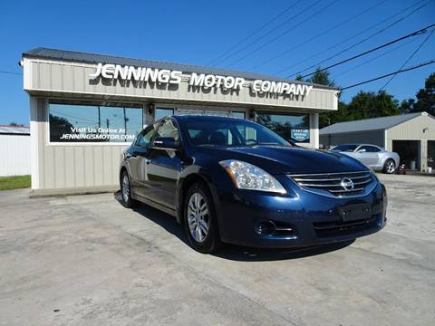 2012 Nissan Altima for sale at Jennings Motor Company in West Columbia SC