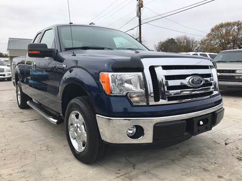 2011 Ford F-150 for sale at Jennings Motor Company in West Columbia SC