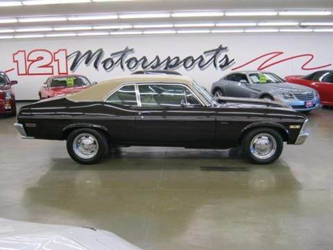 1972 Chevrolet Nova for sale at 121 Motorsports in Mt. Zion IL