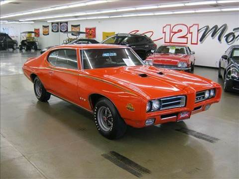 1969 Pontiac GTO for sale at 121 Motorsports in Mt. Zion IL