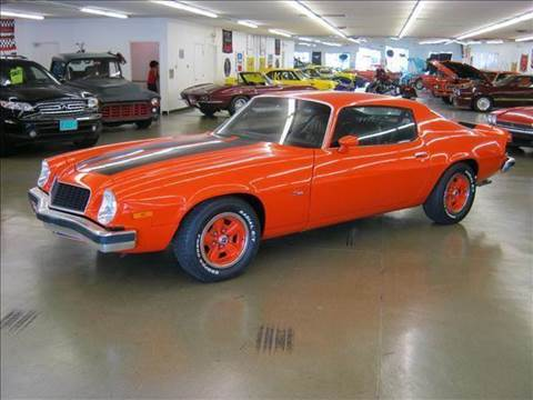 1974 Chevrolet Camaro for sale at 121 Motorsports in Mt. Zion IL