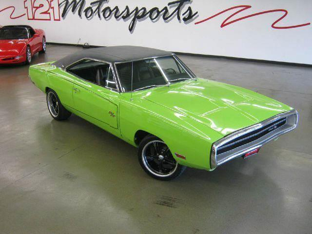 1970 Dodge Charger for sale at 121 Motorsports in Mount Zion IL