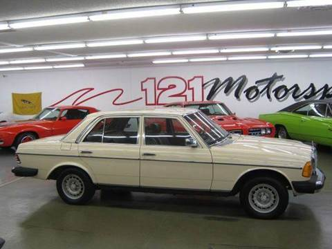 1982 Mercedes-Benz 300-Class for sale at 121 Motorsports in Mount Zion IL