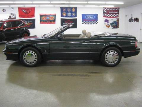 1993 Cadillac Allante for sale at 121 Motorsports in Mt. Zion IL