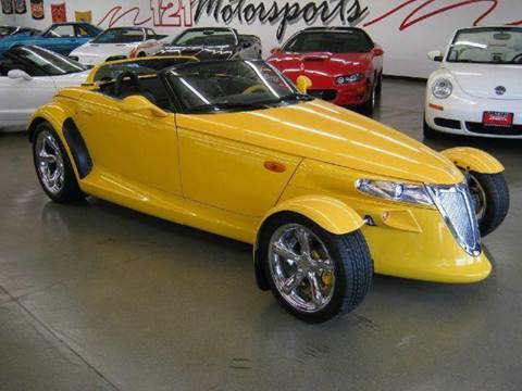 1999 Plymouth Prowler for sale at 121 Motorsports in Mt. Zion IL