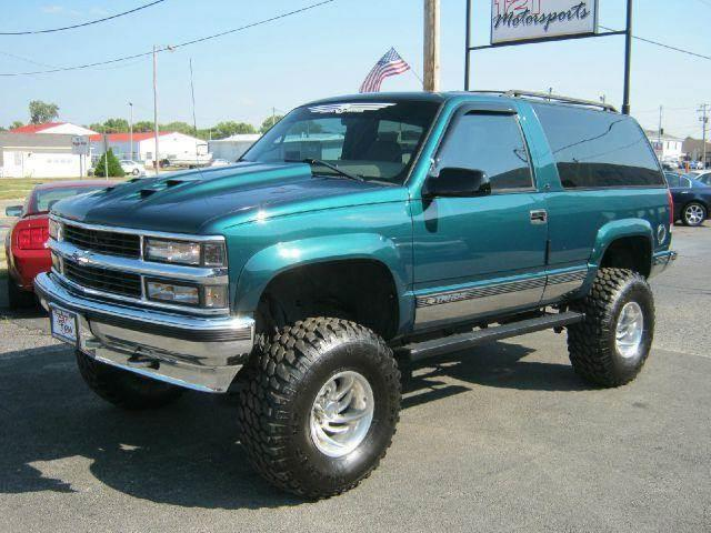 1998 Chevrolet Tahoe 2 Door 4wd In Mt Zion Il 121 Motorsports