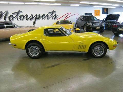1970 Chevrolet Corvette for sale at 121 Motorsports in Mt. Zion IL