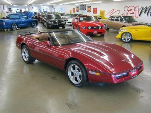 1990 Chevrolet Corvette for sale at 121 Motorsports in Mt. Zion IL