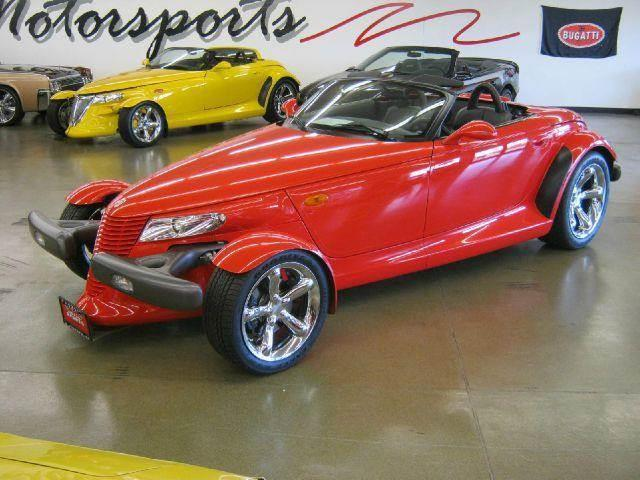 1999 Plymouth Prowler for sale at 121 Motorsports in Mount Zion IL