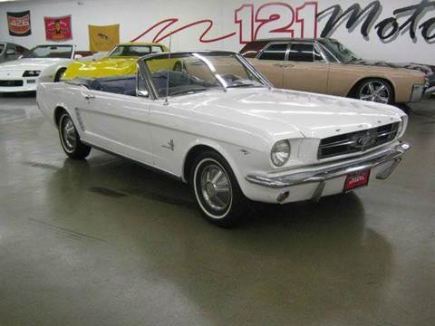1965 Ford Mustang for sale at 121 Motorsports in Mt. Zion IL