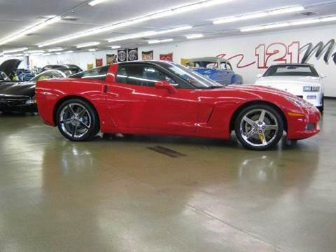2008 Chevrolet Corvette for sale at 121 Motorsports in Mt. Zion IL