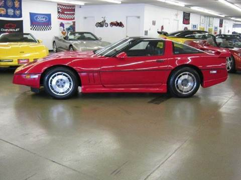 1987 Chevrolet Corvette for sale at 121 Motorsports in Mt. Zion IL