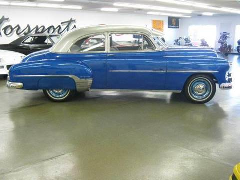 1952 Chevrolet Bel Air for sale at 121 Motorsports in Mt. Zion IL
