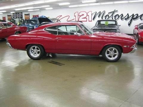 1968 Chevrolet Chevelle for sale at 121 Motorsports in Mt. Zion IL