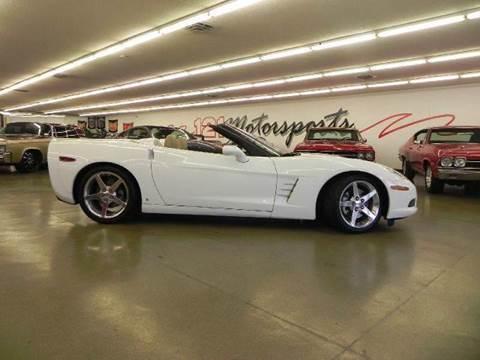 2006 Chevrolet Corvette for sale at 121 Motorsports in Mt. Zion IL